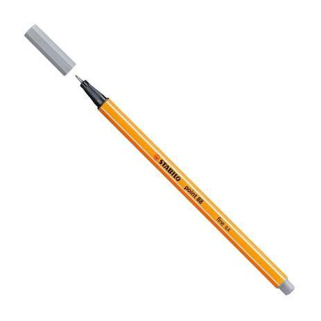Caneta Hidrográfica Fine Point 88/95 - 0.4mm - Cinza Frio| Stabilo