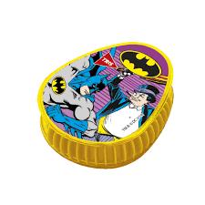 Conjunto Borracha + Apontador com depósito do Batman | Tris