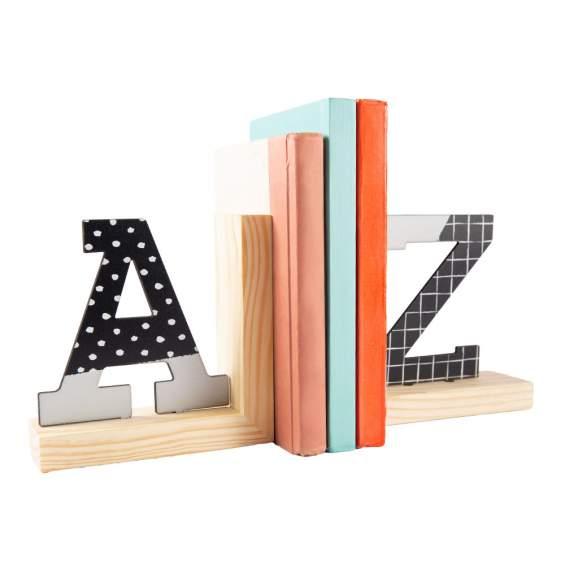Conjunto Suporte para Livros Letras | Uatt