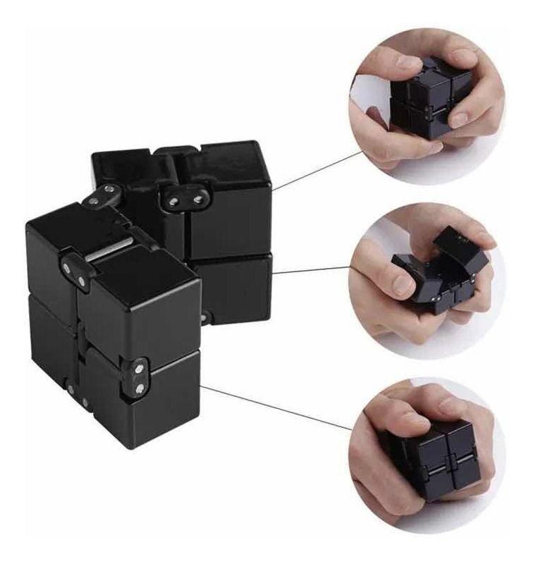 Cubo Infinito Anti-Stress Brinquedo Anti stress Infinite Rubik's Fidget Toy   Importado