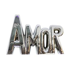 Enfeite Decorativo de Porcelana Amor   Importado
