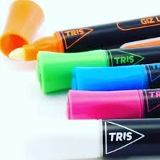 Estojo Giz Líquido Pop Office | Tris
