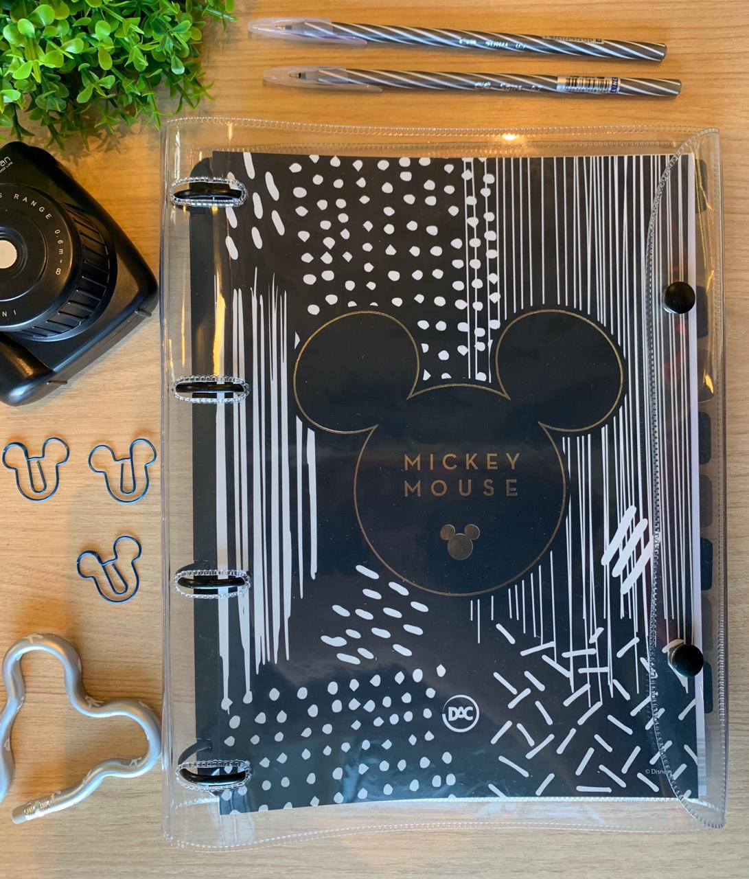 Fichário Cristal Mickey Mouse | DAC