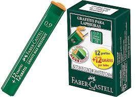 Grafite 0,9 mm 2b 24 minas   Faber-Castell