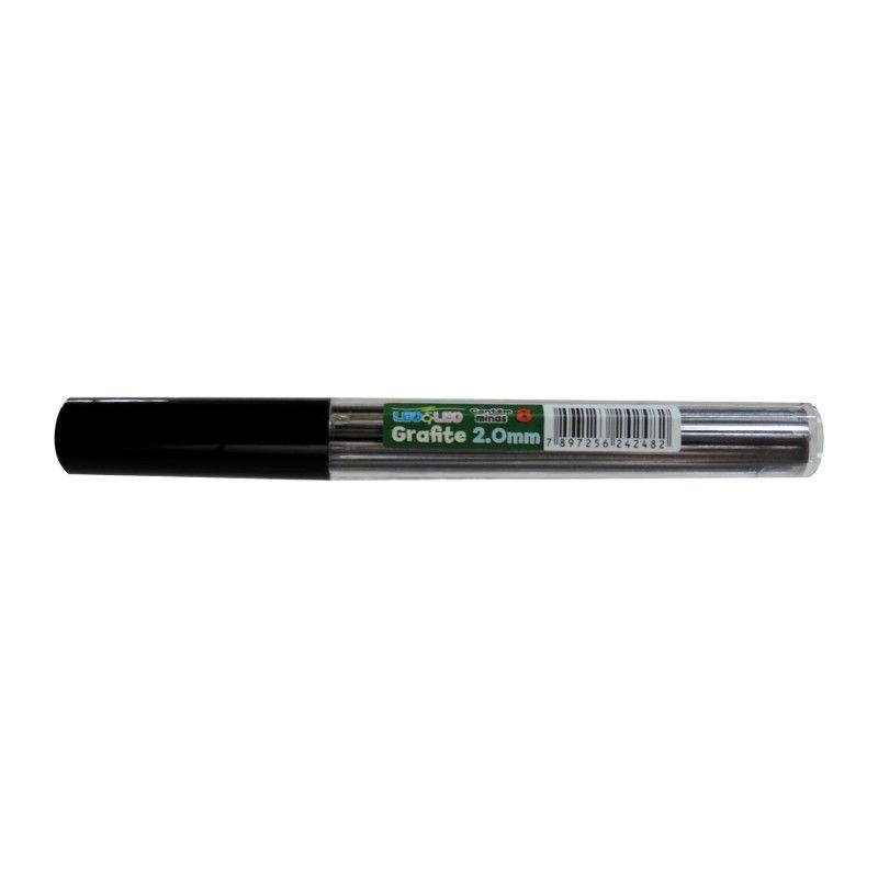 Grafite 2,0mm Hb Com 8 Unidades | Leo E Leo