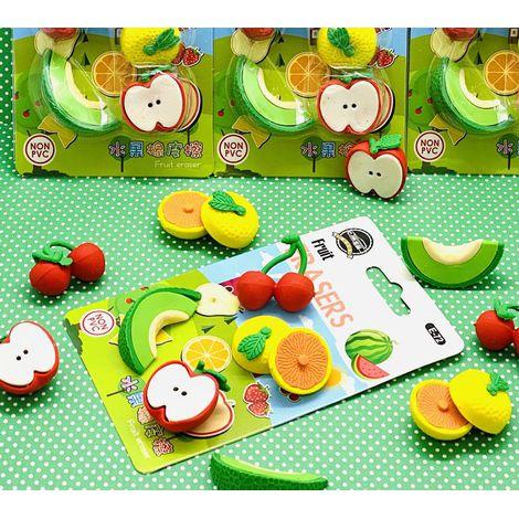 Kit Borracha Fruit com 5  | Importado