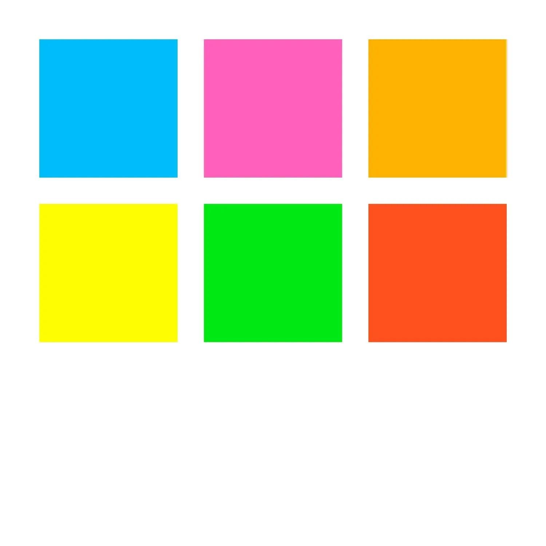 Kit com 6 cores de Caneta Triangular 0.3mm Fineliner Triplus Neon | Staedtler