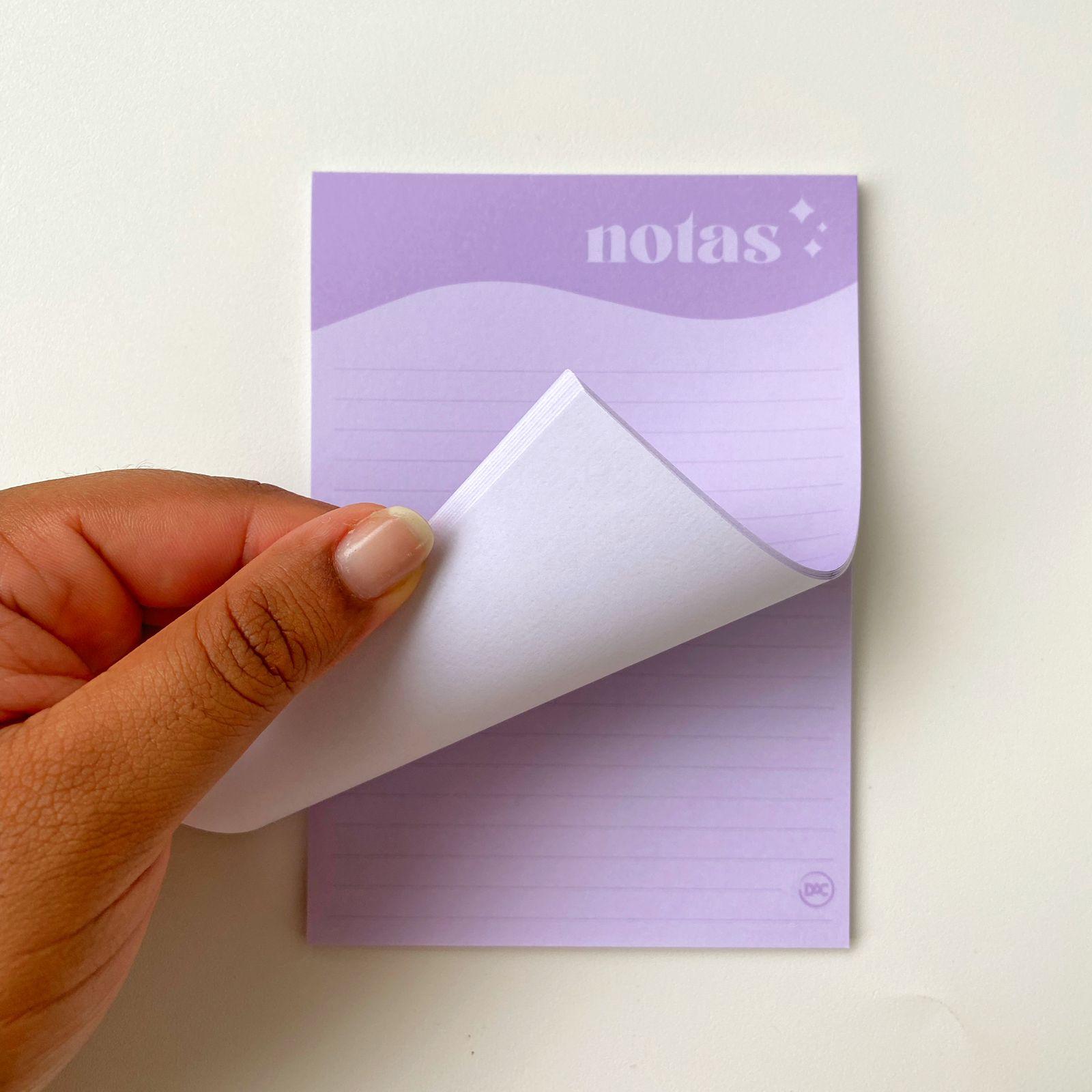 Kit de Bloquinhos com 5 modelos Dia a Dia Fazer, To Do List, Checklist, Tarefas e Notas   DAC
