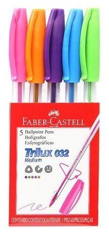 Kit de Caneta esferográfica Trilux 032 | Faber Castell