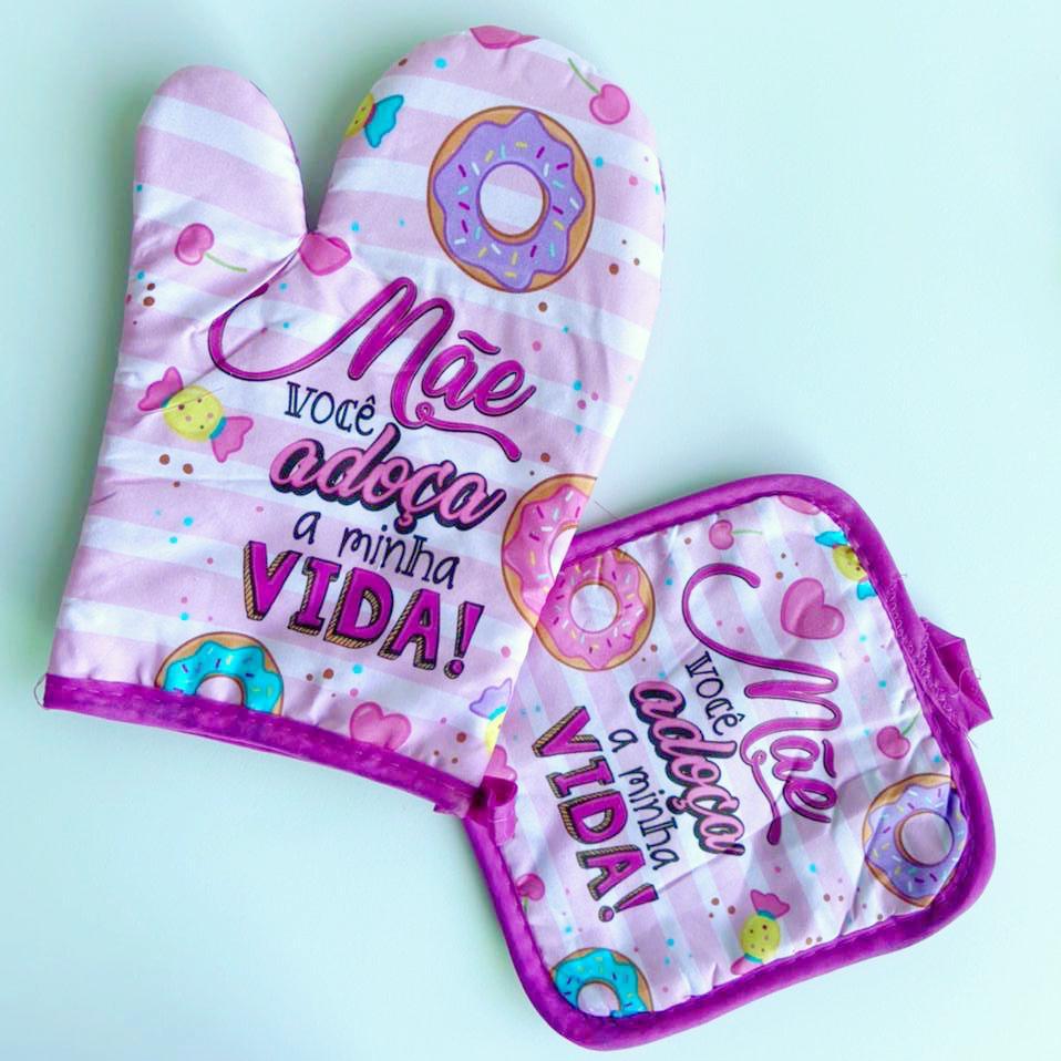 Kit Dia das Mães 2 Peças   Rocie