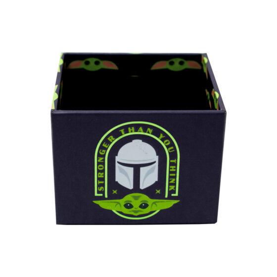 Kit Escritório Star Wars Yoda 5 Peças Organizador de Mesa   DAC