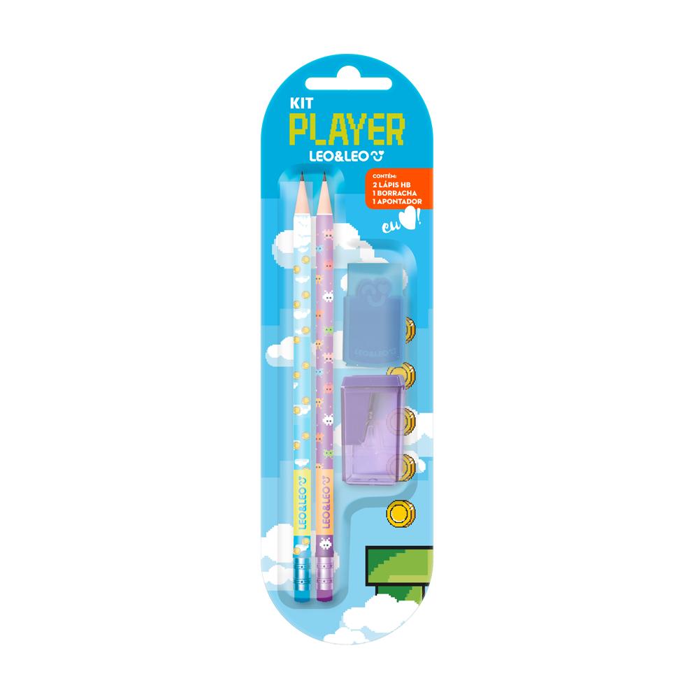 Kit Lápis HB Player - Verde | Leonora