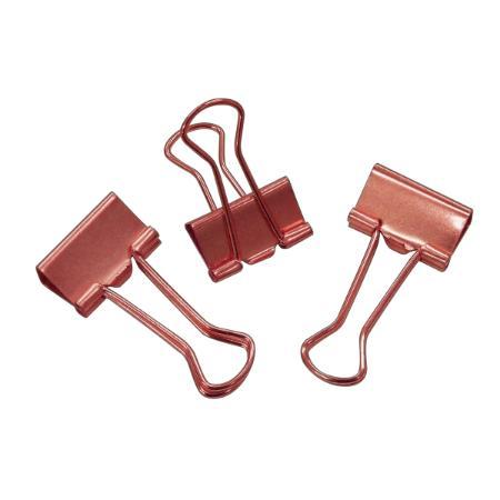 Kit Prendedor 12 un Rose Gold 19mm   Tilibra