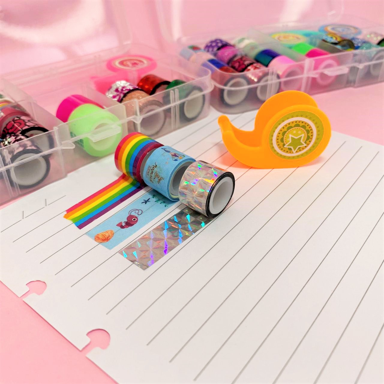 Kit Washi Tape Mini | Importado