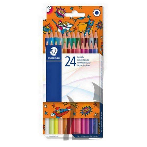 Lápis de Cor 24 cores brilhantes | Staedtler