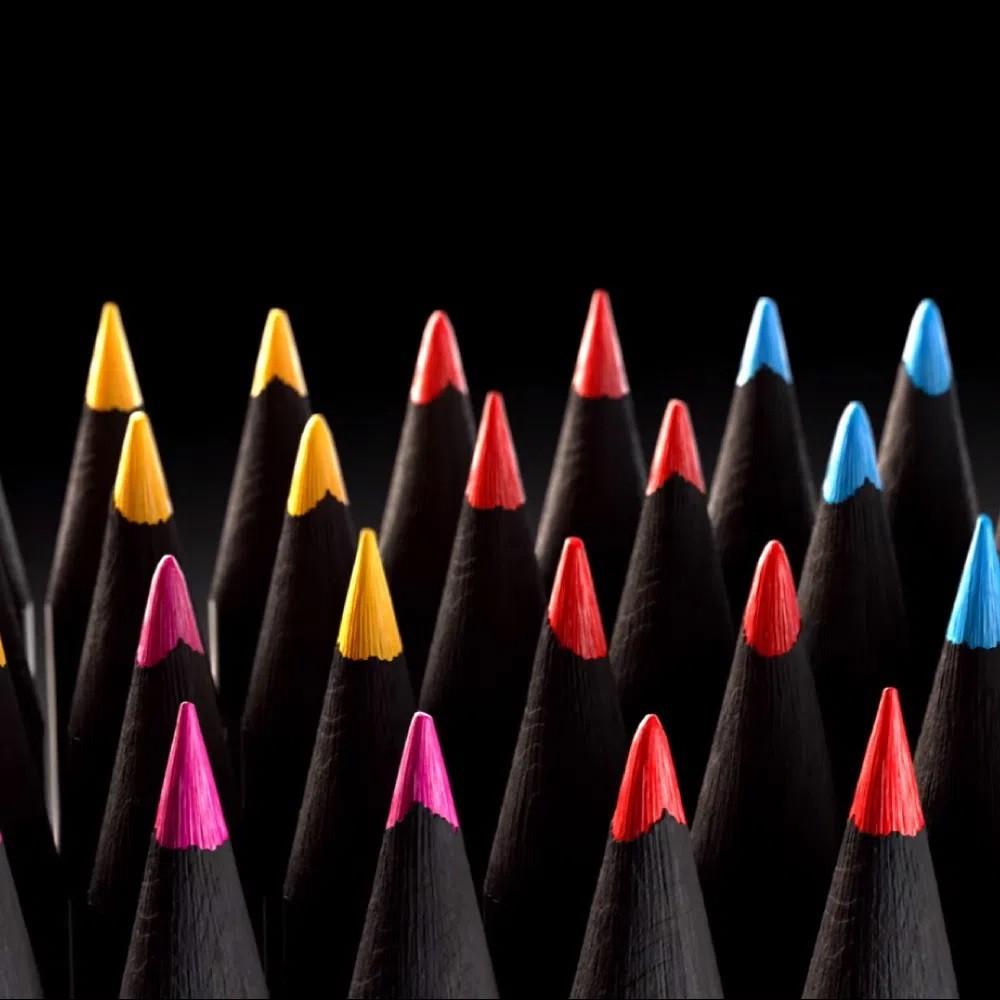 Lápis de Cor 24 cores EcoLápis Supersoft   Faber-Castell