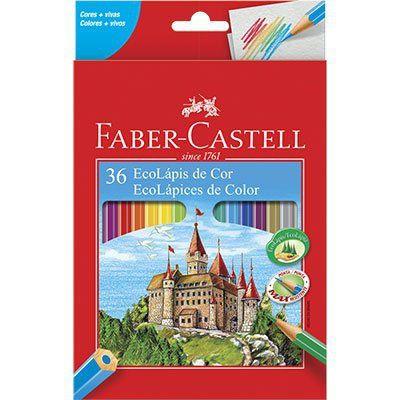 Lápis de Cor 36 cores sextavado | Faber-Castell