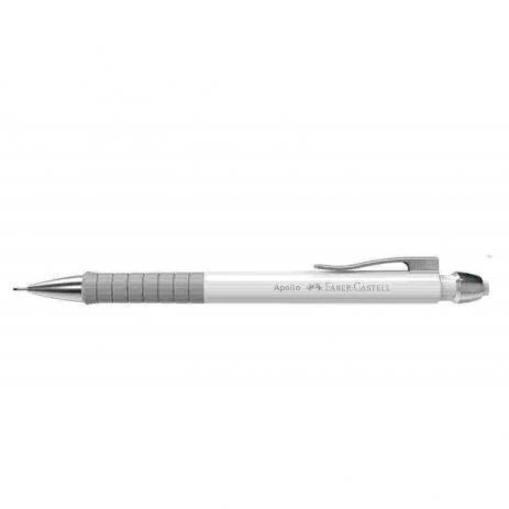 Lapiseira 0.7mm Apollo Branca | Faber-Castell