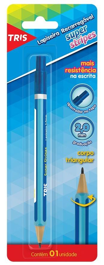 Lapiseira 2.0 Formato Lapis Super Stripes | TRIS