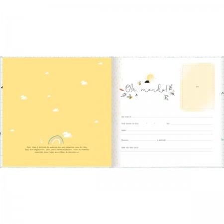 Livro do Bebê 34 Folhas Você Chegou!   Tilibra