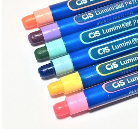 Marca Texto Gel Lumini Tons Pastel | CiS
