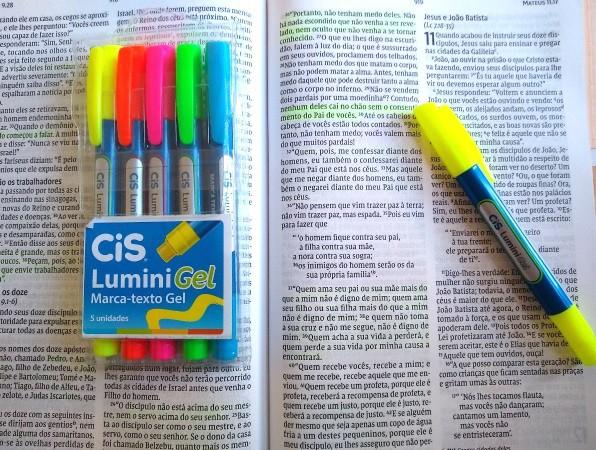 Marca Texto Gel Lumini - Cores Variadas | CiS