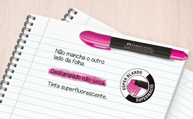Marca Texto Gel Supersoft - Cores Variadas| Faber-Castell