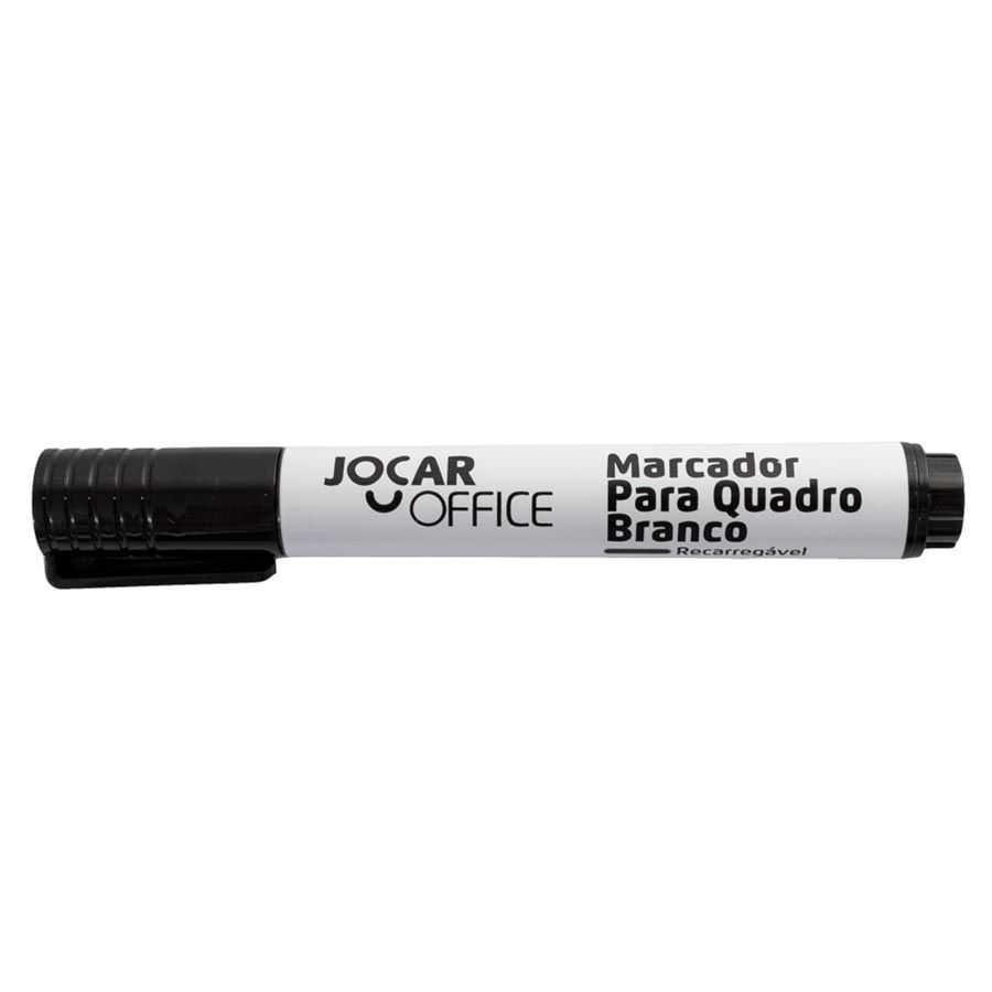 Marcador para Quadro Branco Preto | Jocar Office
