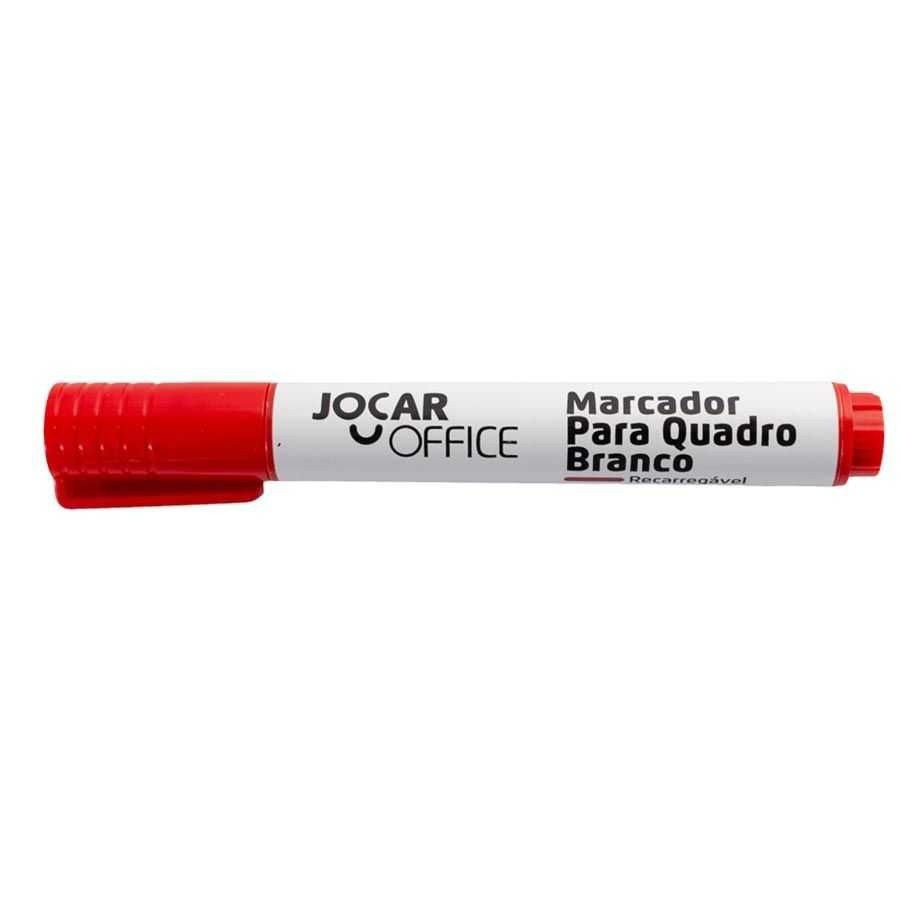Marcador para Quadro Branco Vermelho | Jocar Office