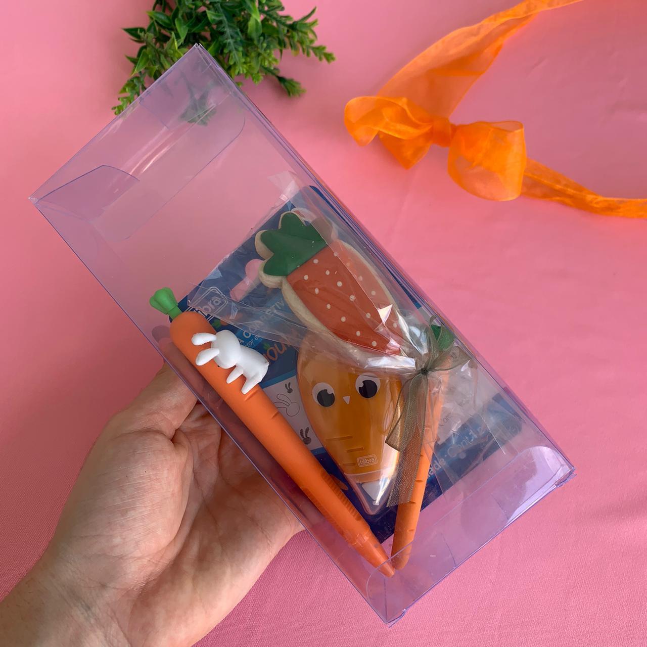 Mini Kit Cenourinha Fofa 4 Peças