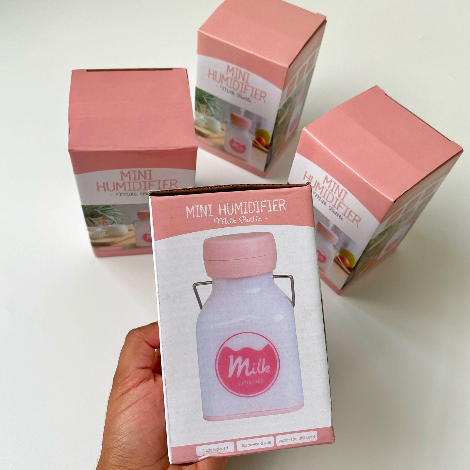 Mini Umidificador Vaporizador Leite Milk para Aromatizante   Importados