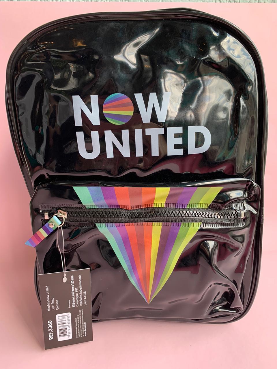 Mochila Now United Preta | DAC