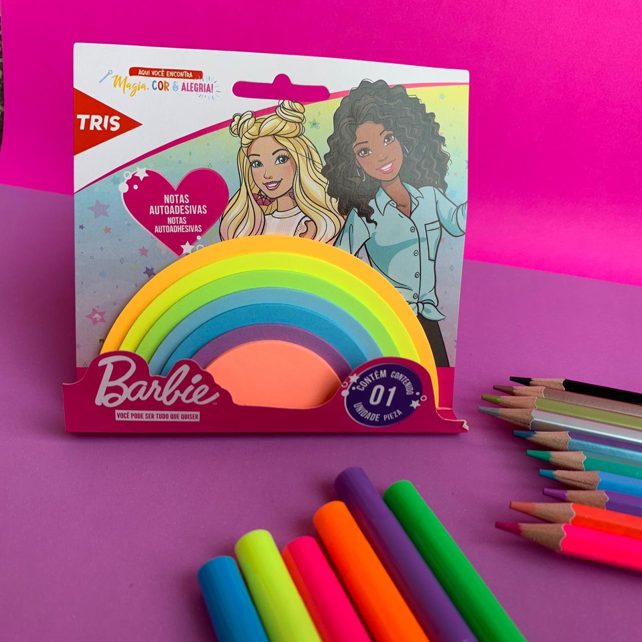 Notas Autoadesivas Arco iris Barbie | Tris