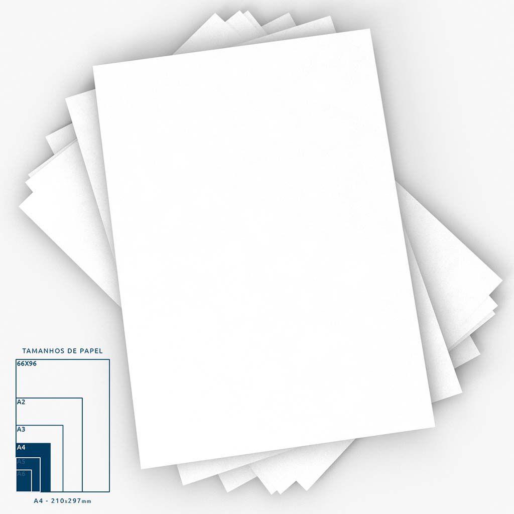 Papel Sulfite Branco A4 75g - 100fls   Chamex
