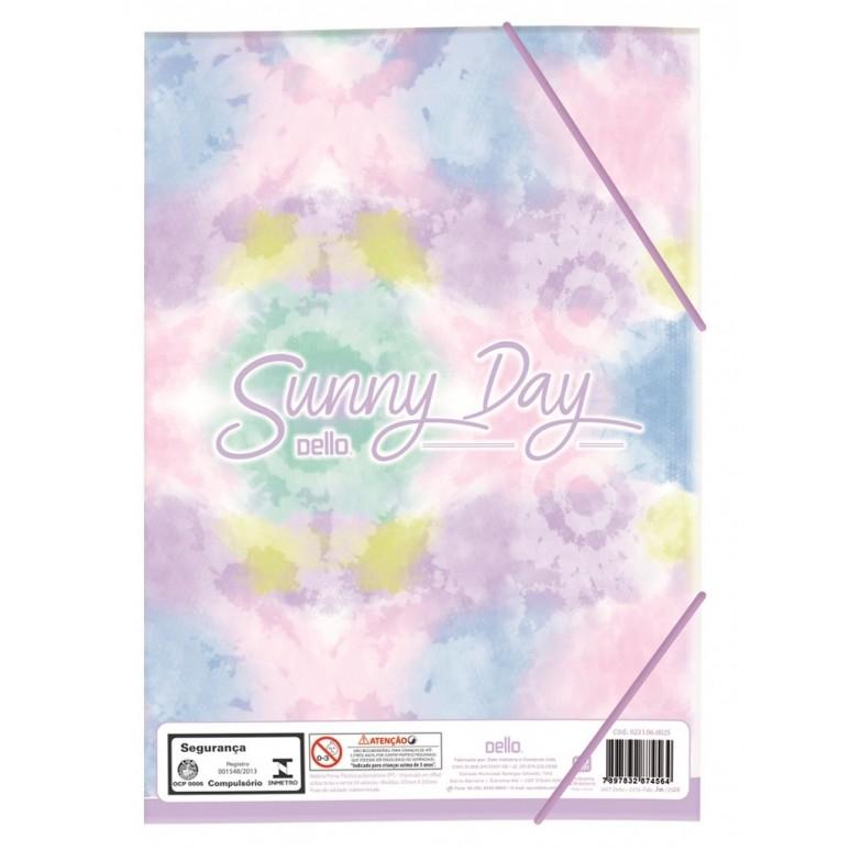 Pasta Aba Elástica Ofício SunnyDay – Day | Dello