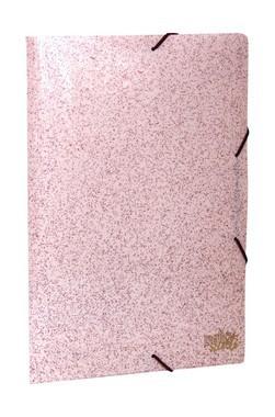 Pasta Aba Elástico Ofício Secrets Rosa com cheiro | Dello
