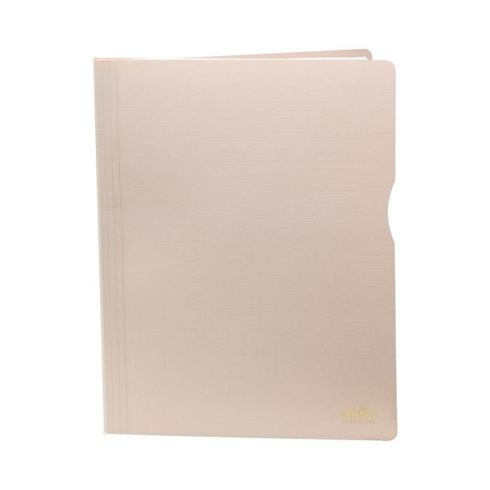 Pasta Catálogo A4 Executive com 10 Plásticos Rosa   Dello