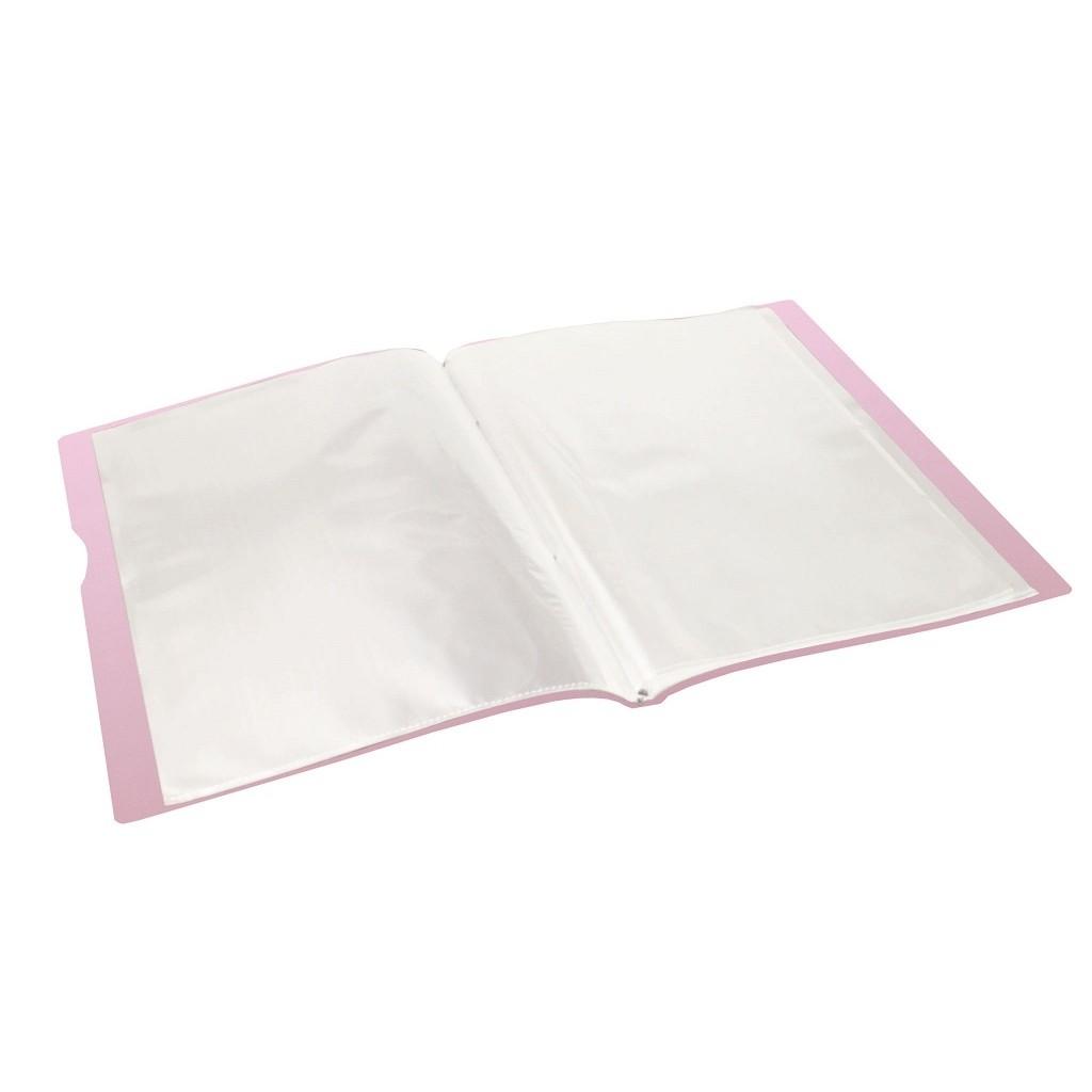 Pasta Catálogo A4 Serena com 30 Plásticos | Dello
