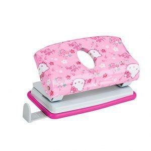 Perfurador 2 furos Hello Kitty Rosa | Molin