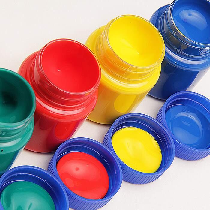 Pintura A Dedo  15 ml com 6 cores | Acrilex