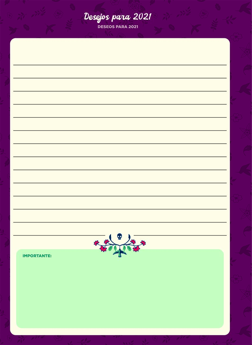 Planner Colegial 2021 Frida | Jandaia