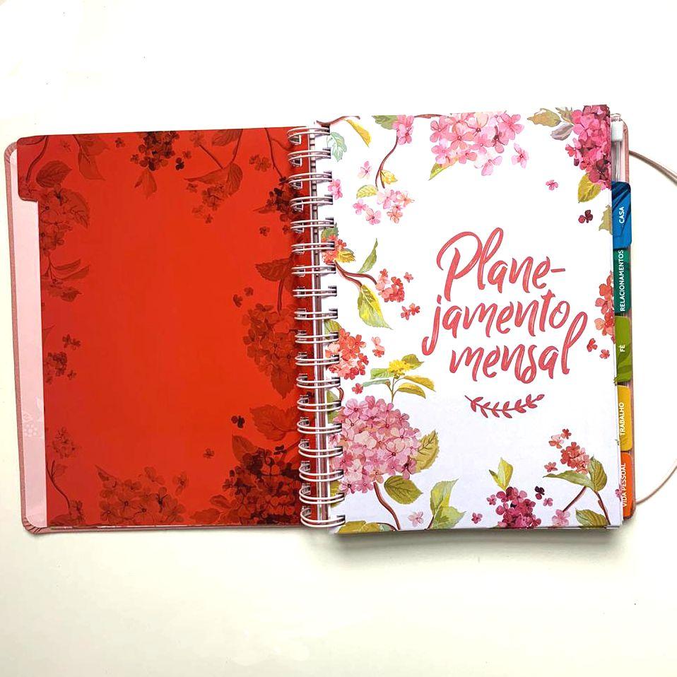 Planner Meu Plano Perfeito Floral   Thomas Nelson