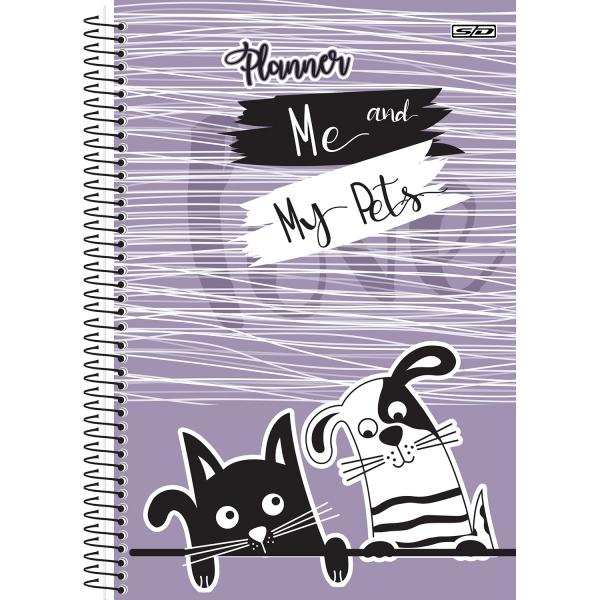 Planner Permanente Eu e Meu Pet | SD