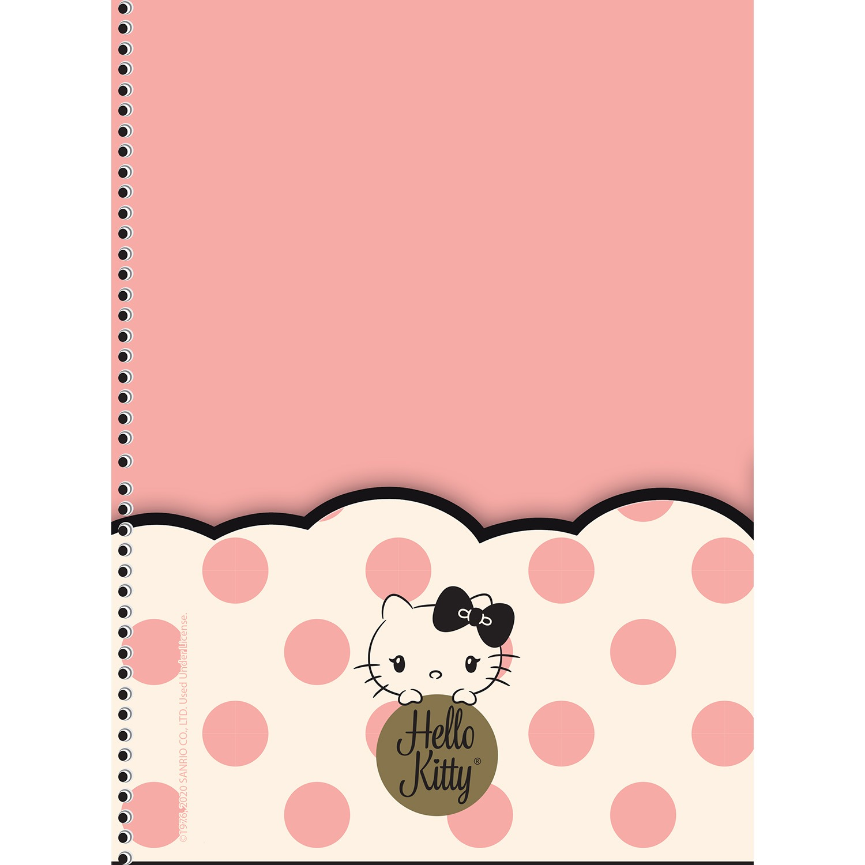 Planner Permanente  Hello Kitty Espiral 80 Fls | São Domingos