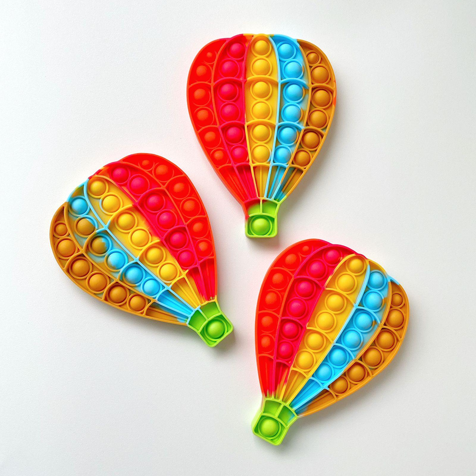 Pop Popit de Silicone Fidget Toy Brinquedo Anti stress Relaxante Balão Cor Tom vintage| Importado