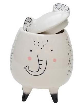 Pote Porcelana Cute Bichinhos Elefante | Bras Continental