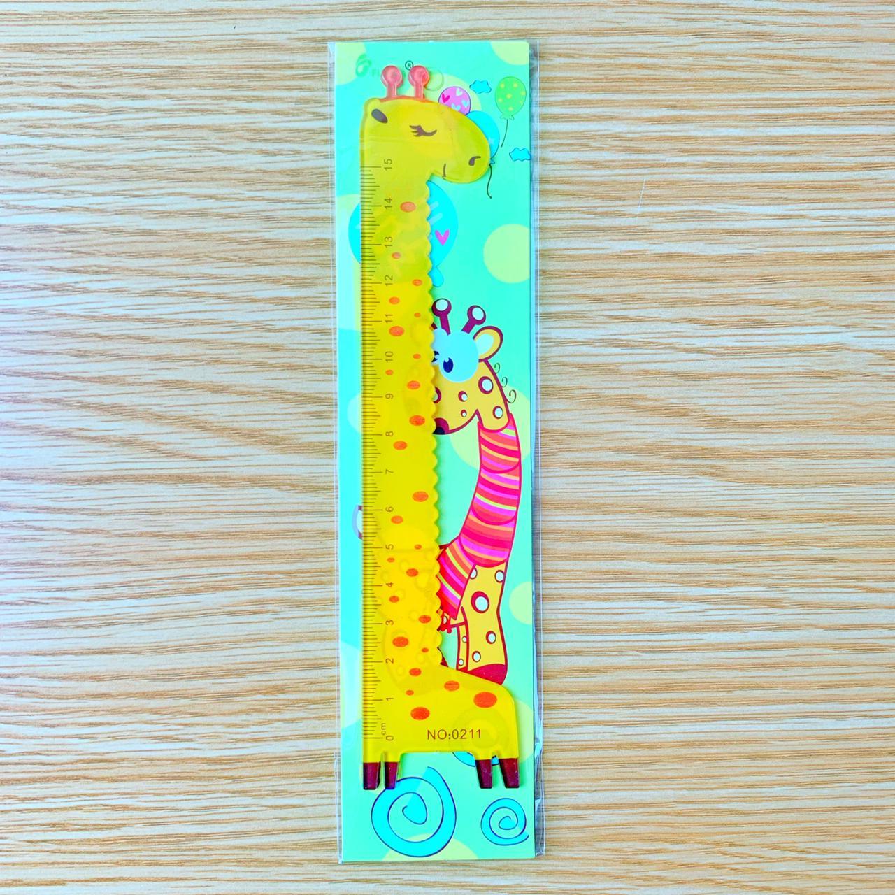 Régua Girafa 15cm | Importado
