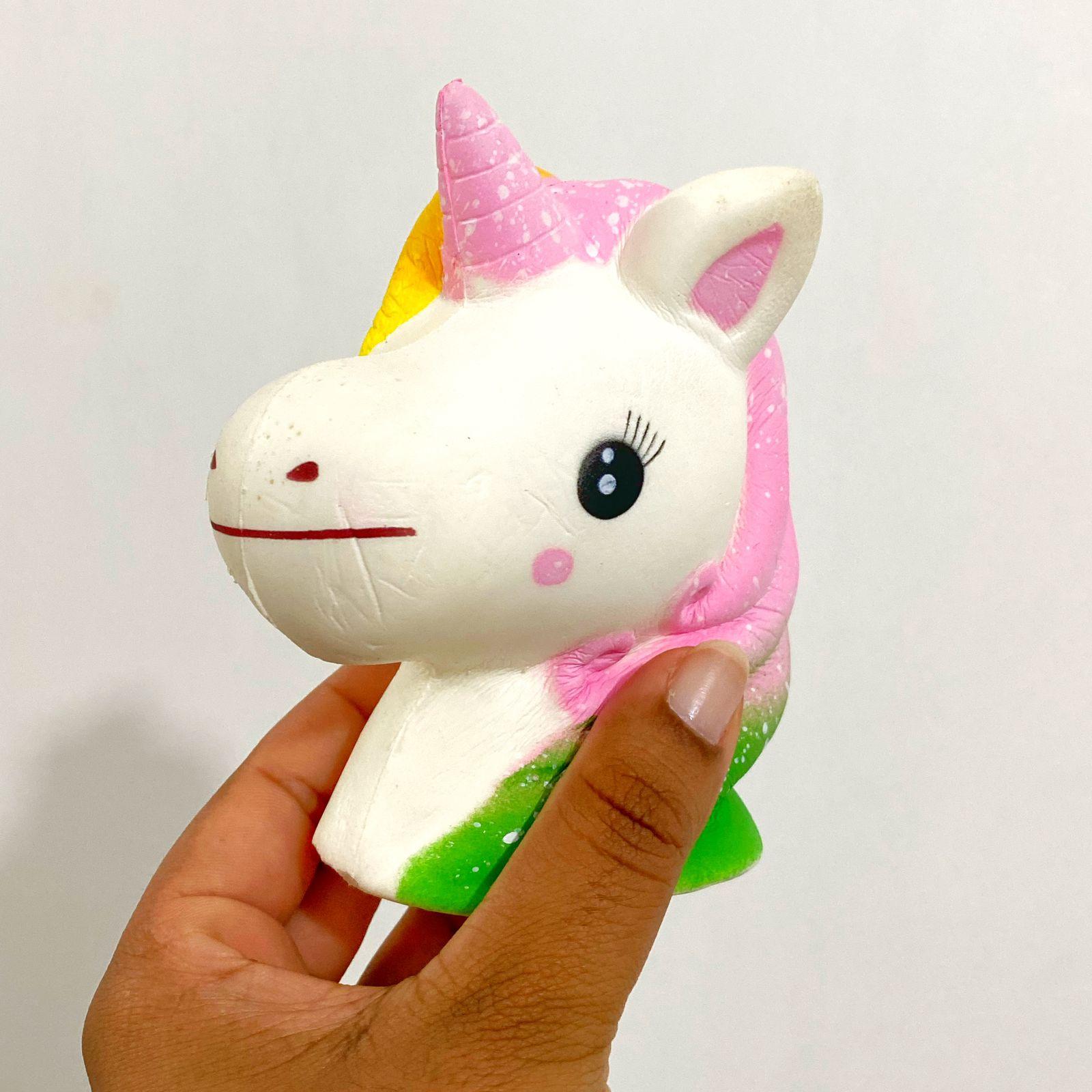 Squishy Fofinhos e Divertidos Fidget Toy Antistress Unicórnio| Importado