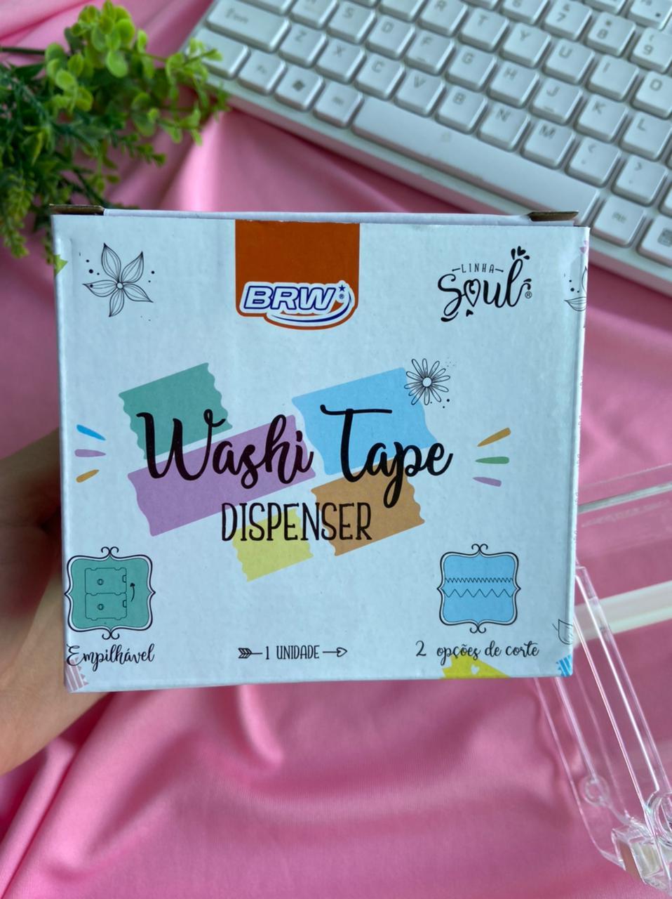Suporte Para Fita Adesiva  Washi Tape Dispenser | Brw