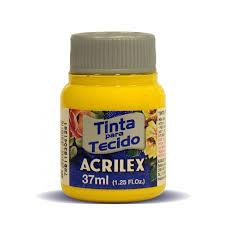 Tinta para Tecido 37ml  Ouro 505 | Acrilex
